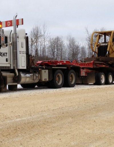 james c 1 - 214 hauling d8