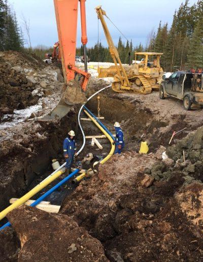 ken 5 - pipeline at bend